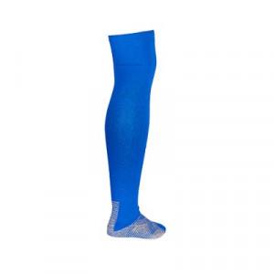 Medias antideslizantes Nike Grip Strike - Medias de fútbol Nike con sistema antideslizante - azules - trasera