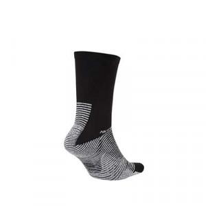 Calcetines Nike Grip Strike Crew - Calcetines antideslizantes de media caña de entrenamiento Nike - negros - trasera
