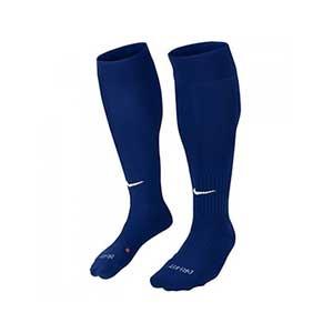 Medias Nike Classic 2 acolchados - Medias de fútbol acolchadas Nike - azul marino - conjunto