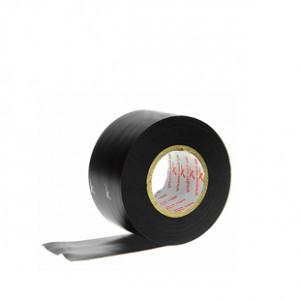 Tape 38mm Premier Sock negro - Cinta elástica sujeta espinilleras (3,8 cm x 20 m) - negro - lateral