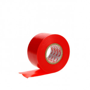 Tape 38mm Premier Sock rojo - Cinta elástica sujeta espinilleras - rojo - lateral