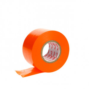 Tape 38mm Premier Sock - Cinta elástica sujeta espinilleras (3,8 cm x 20 m) - naranja - lateral