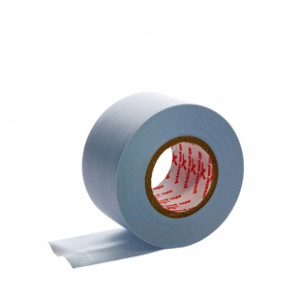 Tape 38mm Premier Sock azul - Cinta elástica sujeta espinilleras - azul - lateral