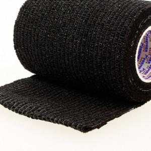 Prowrap 7,5 cm Premier Sock negro - Esparadrapo sujeta espinilleras Prowrap (7,5 cm x 4,5 m) - negro - TAPE7501-Premier sock 7,5 prowrap