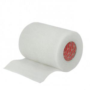 Prowrap 7,5 cm Premier Sock blanco - Esparadrapo sujeta espinilleras Prowrap (7,5 cm x 4,5 m) - blanco - lateral