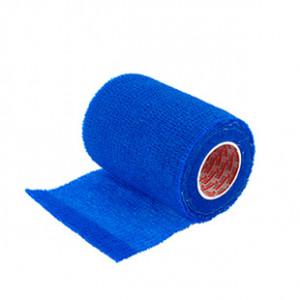 Prowrap 7,5 cm Premier Sock - Esparadrapo sujeta espinilleras Prowrap (7,5 cm x 4,5 m) - azul