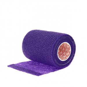 Prowrap 7,5 cm Premier Sock lila - Esparadrapo sujeta espinilleras Prowrap (7,5 cm x 4,5 m) - lila - lateral