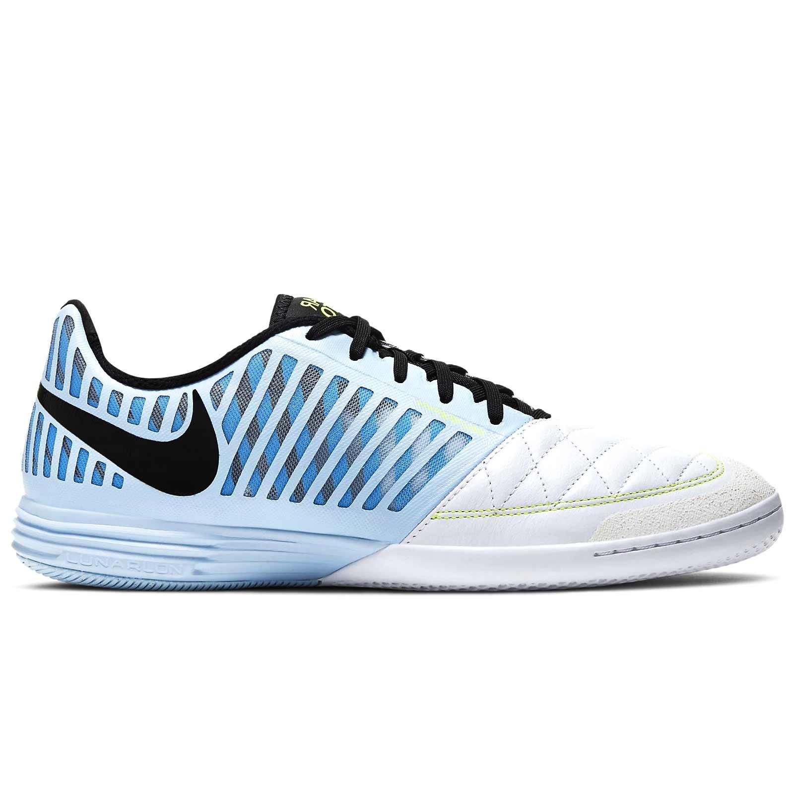 cuerda gemelo Ocurrir  Zapatillas Nike Lunar Gato 2 celeste | futbolmania