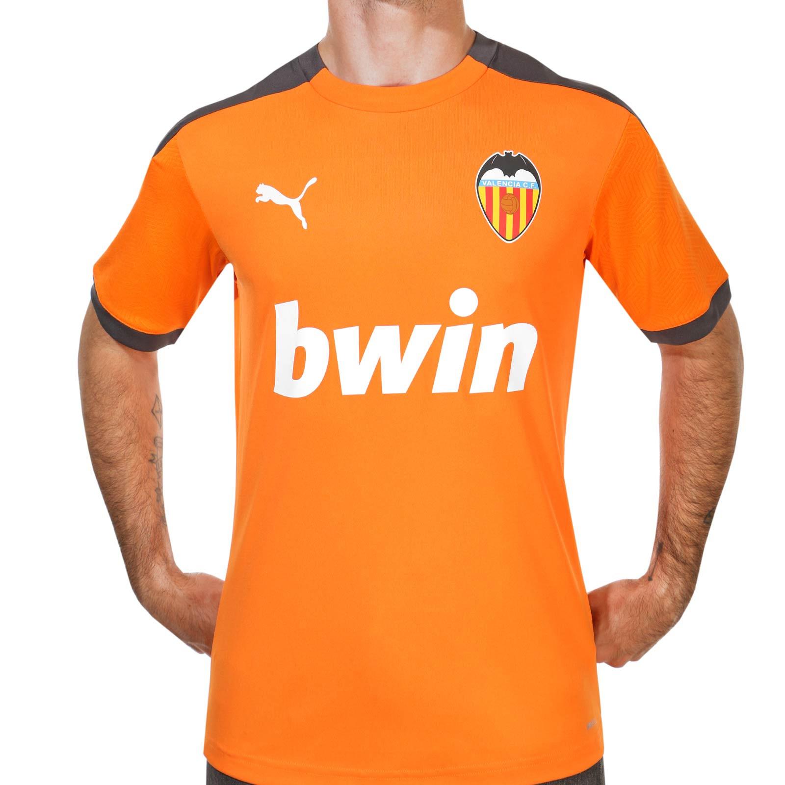 Inmigración Rebobinar Ir a caminar  Camiseta Puma Valencia entreno 2020 2021 | futbolmania