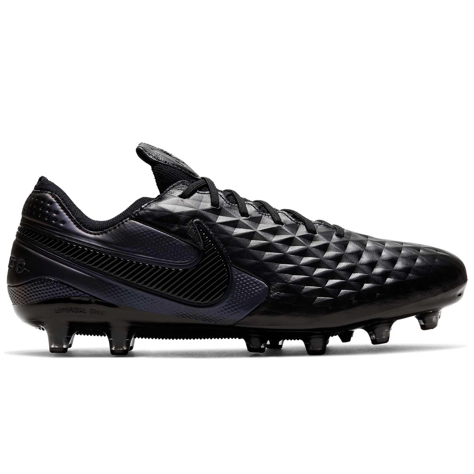 frío angustia acento  Nike Tiempo Legend 8 Elite AG-PRO negras |futbolmania
