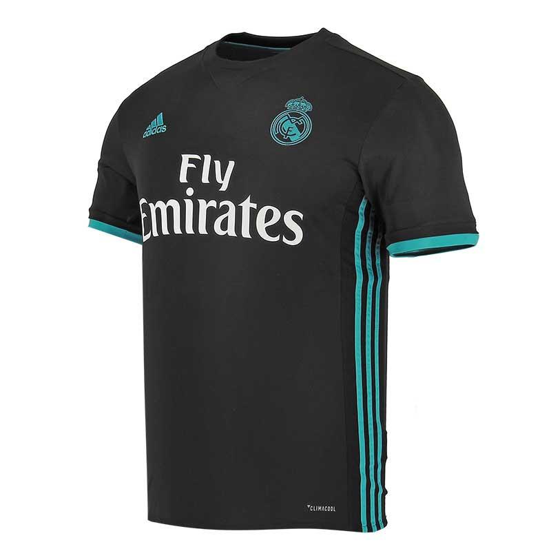 Camiseta 2a equipación Real Madrid 2017 - 2018 Liga Santander - Negro   Azul 2f1137de419ee