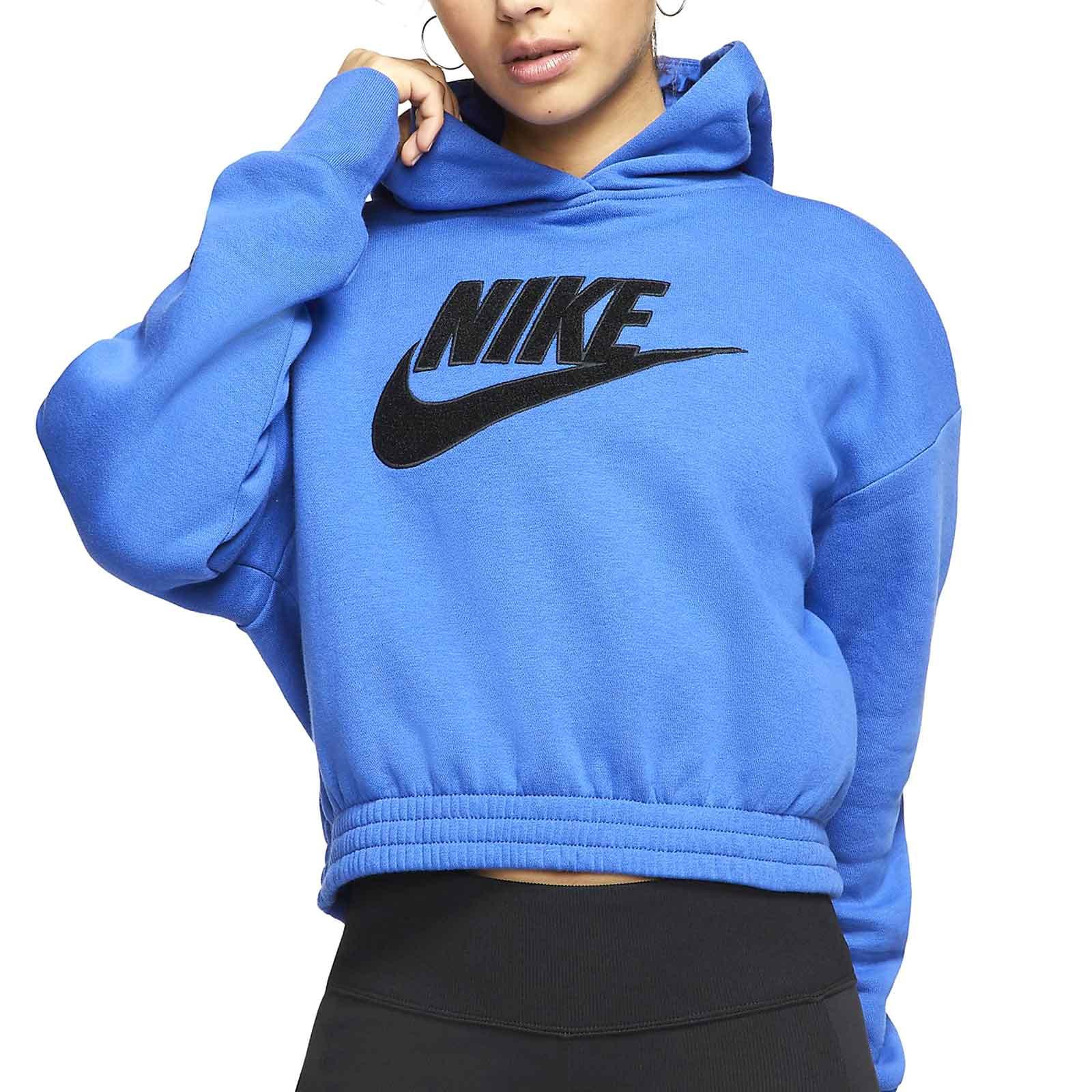 Decoración Paquete o empaquetar Opiáceo  Sudadera Nike mujer Icon Clash Hoodie azul | futbolmania