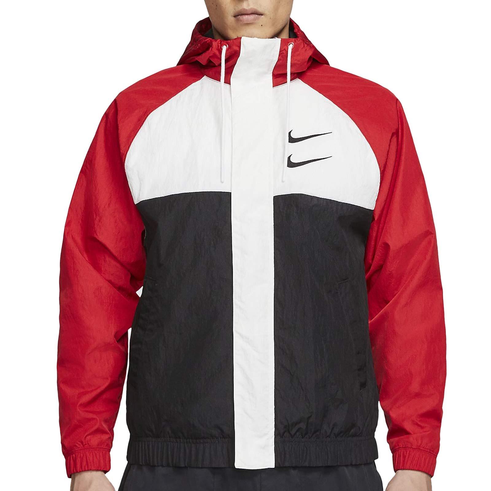 Podrido Objetor nuestra  Chaqueta Nike Sportswear Swoosh Hoodie rojo | futbolmania