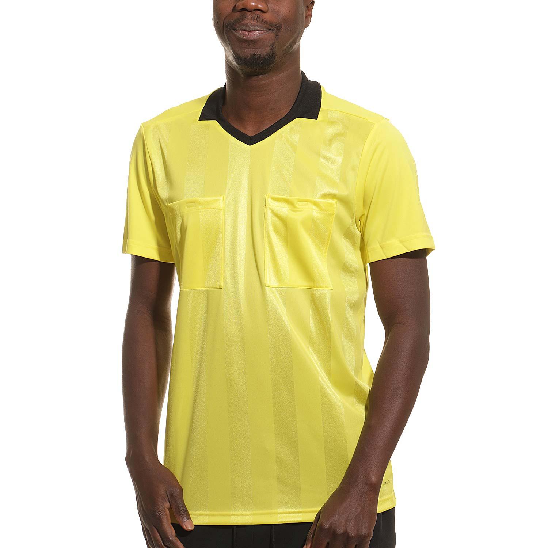 Inferir Predecesor mi  Camiseta adidas árbitro Ref 18 amarilla | futbolmania