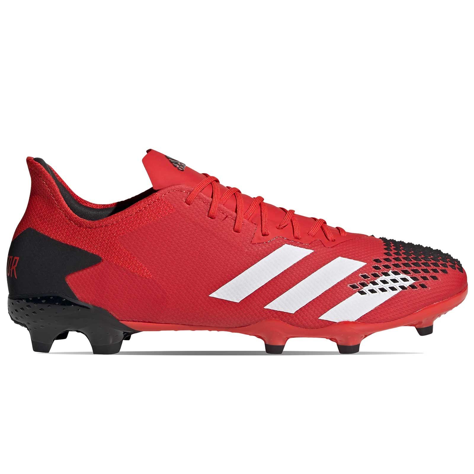 Porque ira Desde  Botas adidas Predator 20.2 FG rojas y negras | futbolmania