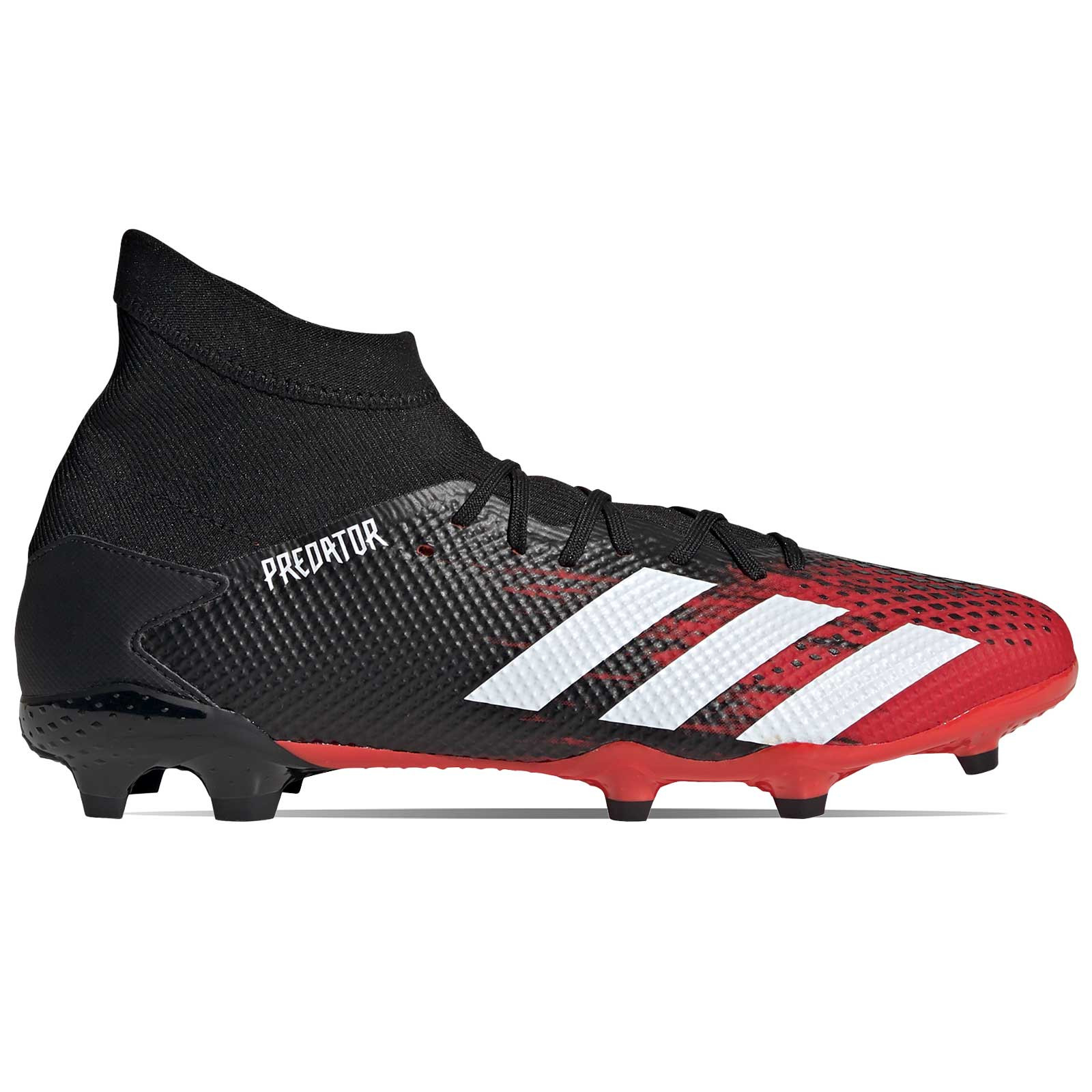 Para llevar Impresionismo tema  Botas adidas Predator 20.3 FG rojas y negras | futbolmania