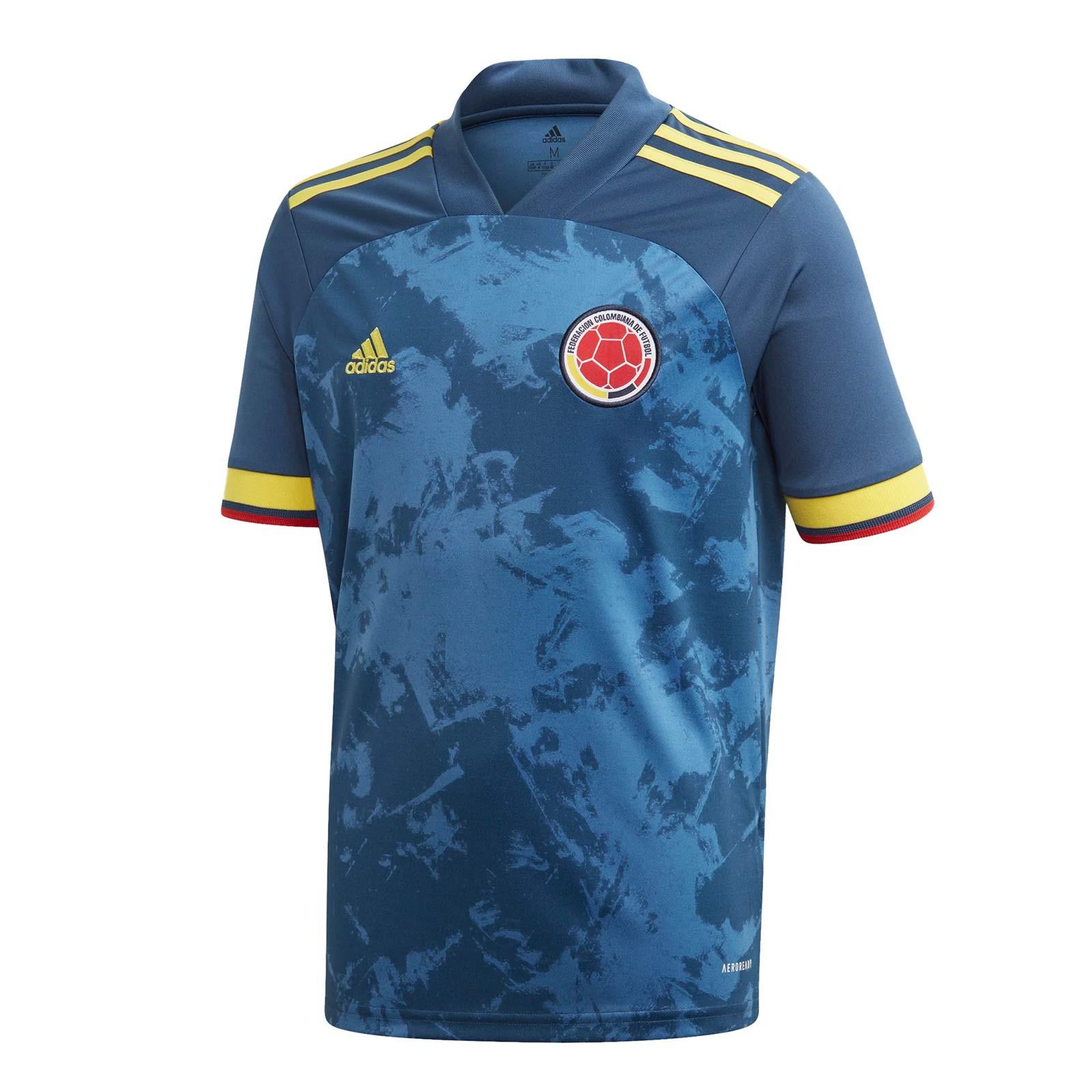 Teleférico Residencia Cambiable  Camiseta niño adidas 2a Colombia 2020 2021 | futbolmaniaKids