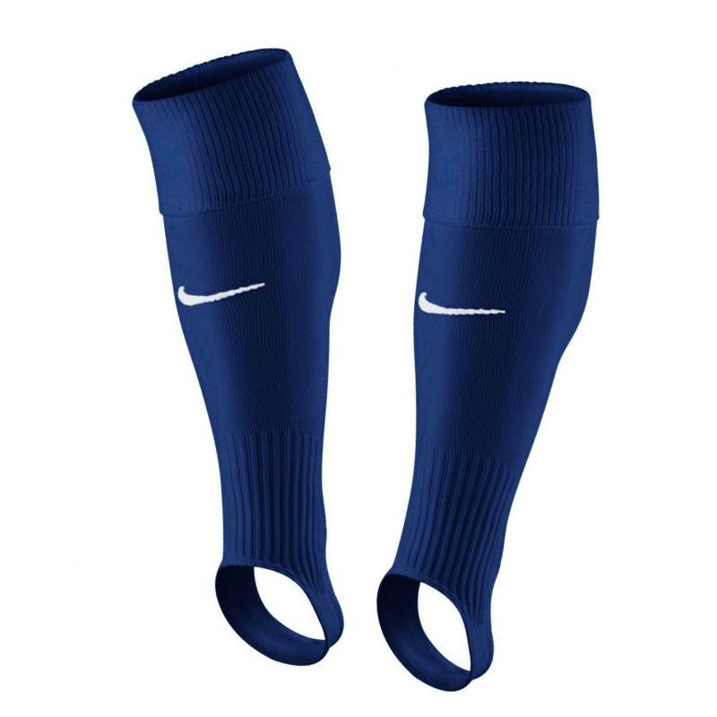 1662b715e Medias de fútbol Nike Stirrup Game III sin pie - Azul Marino