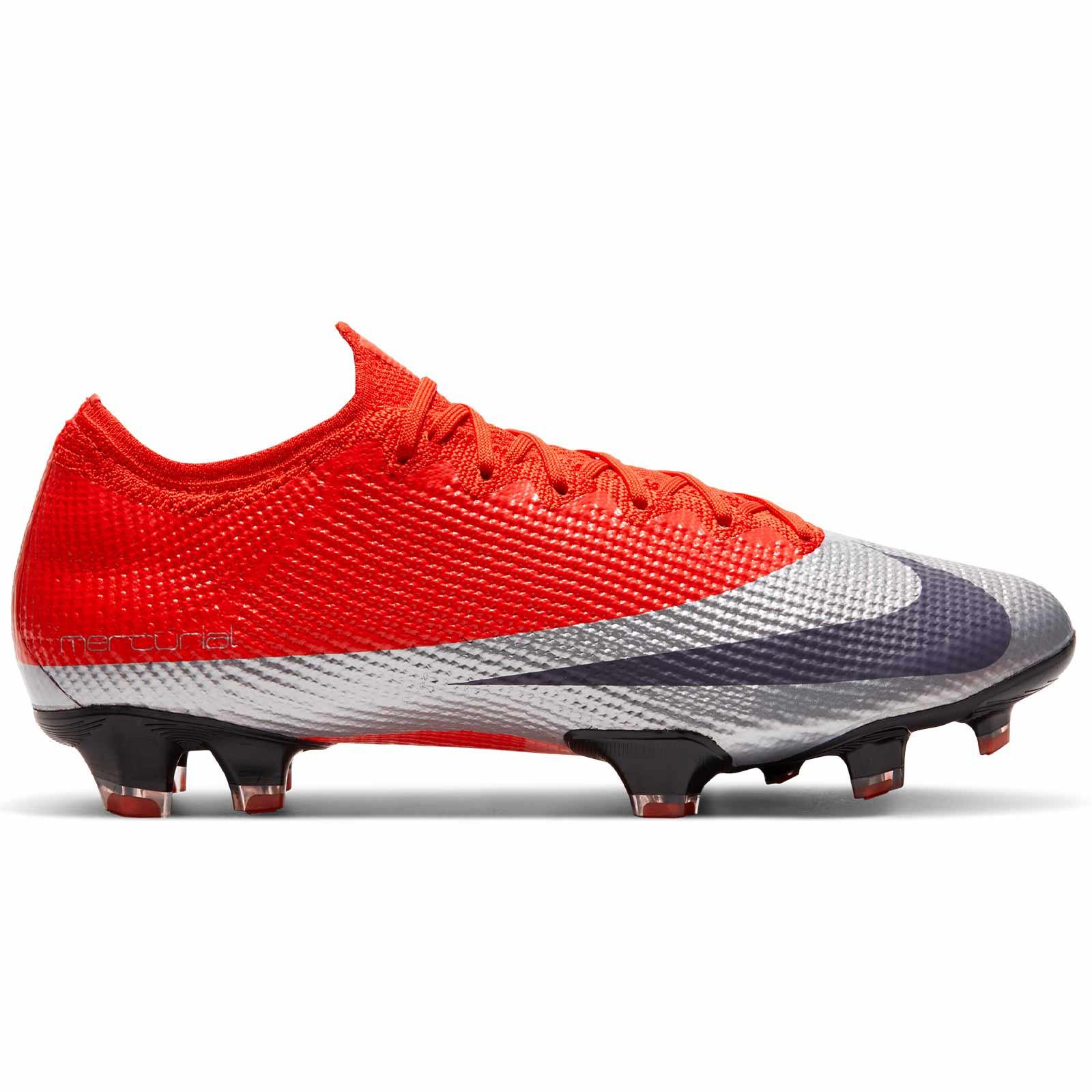 En expansión Hipócrita Halar  Nike Mercurial Vapor 13 Elite FG naranja plata futbolmania