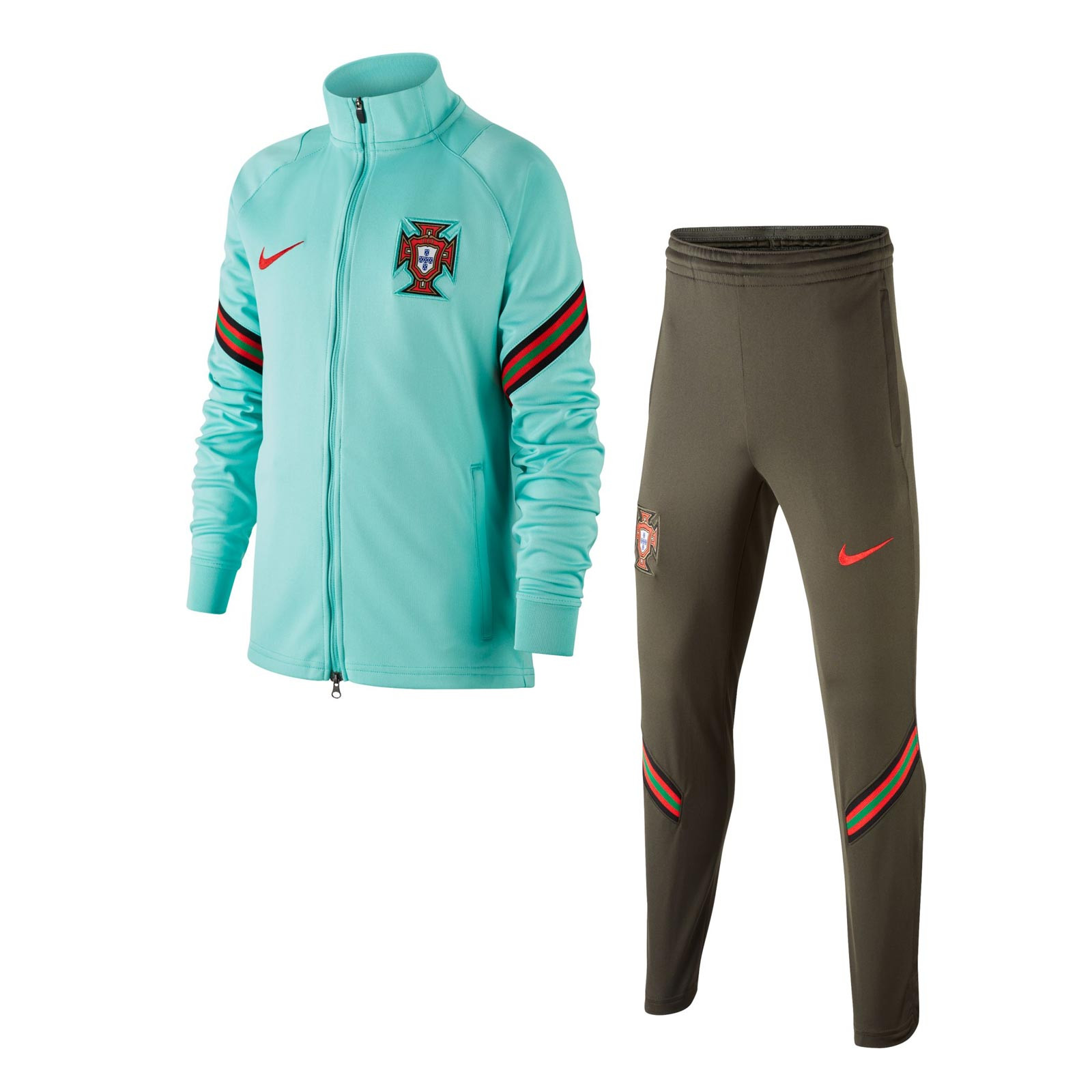 Roble bloquear vía  Chándal Nike Portugal niño entreno 2020 2021 Strike | futbolmaniaKids