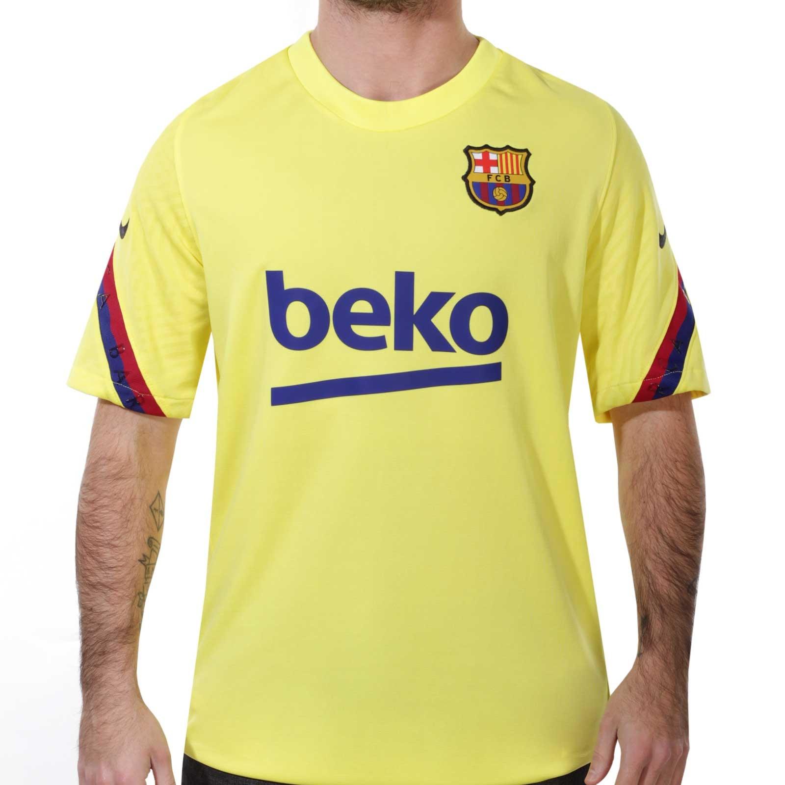 Camiseta Nike Barcelona entreno 19 2020 Strike