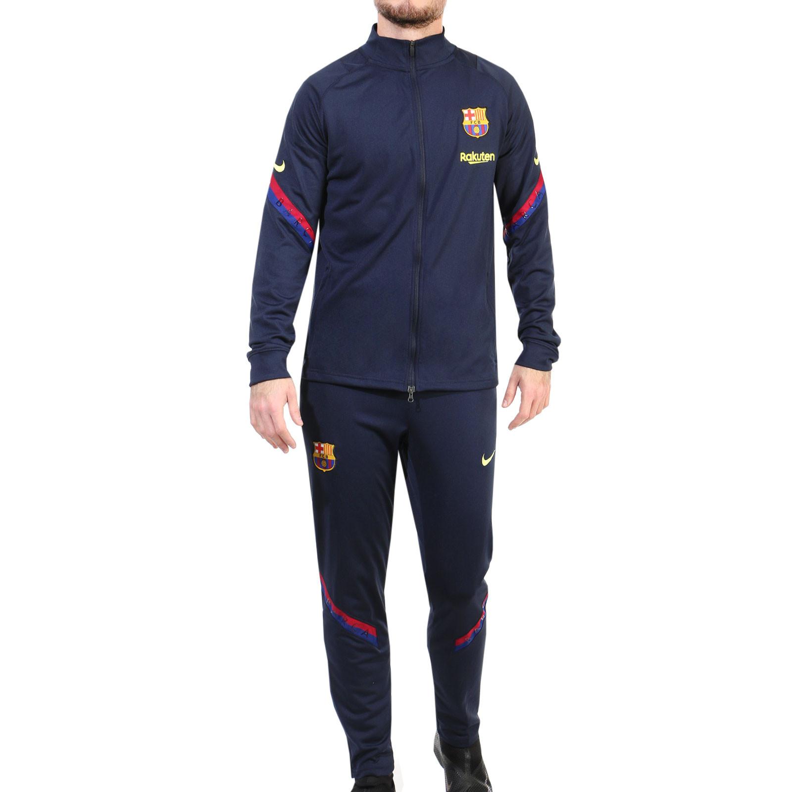 Observatorio celos acelerador  Chándal FC Barcelona 19 20 azul marino | futbolmania