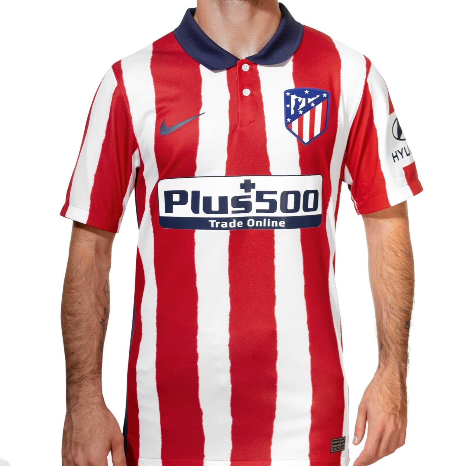 Camiseta Nike Atlético 2020 2021 Stadium Futbolmania