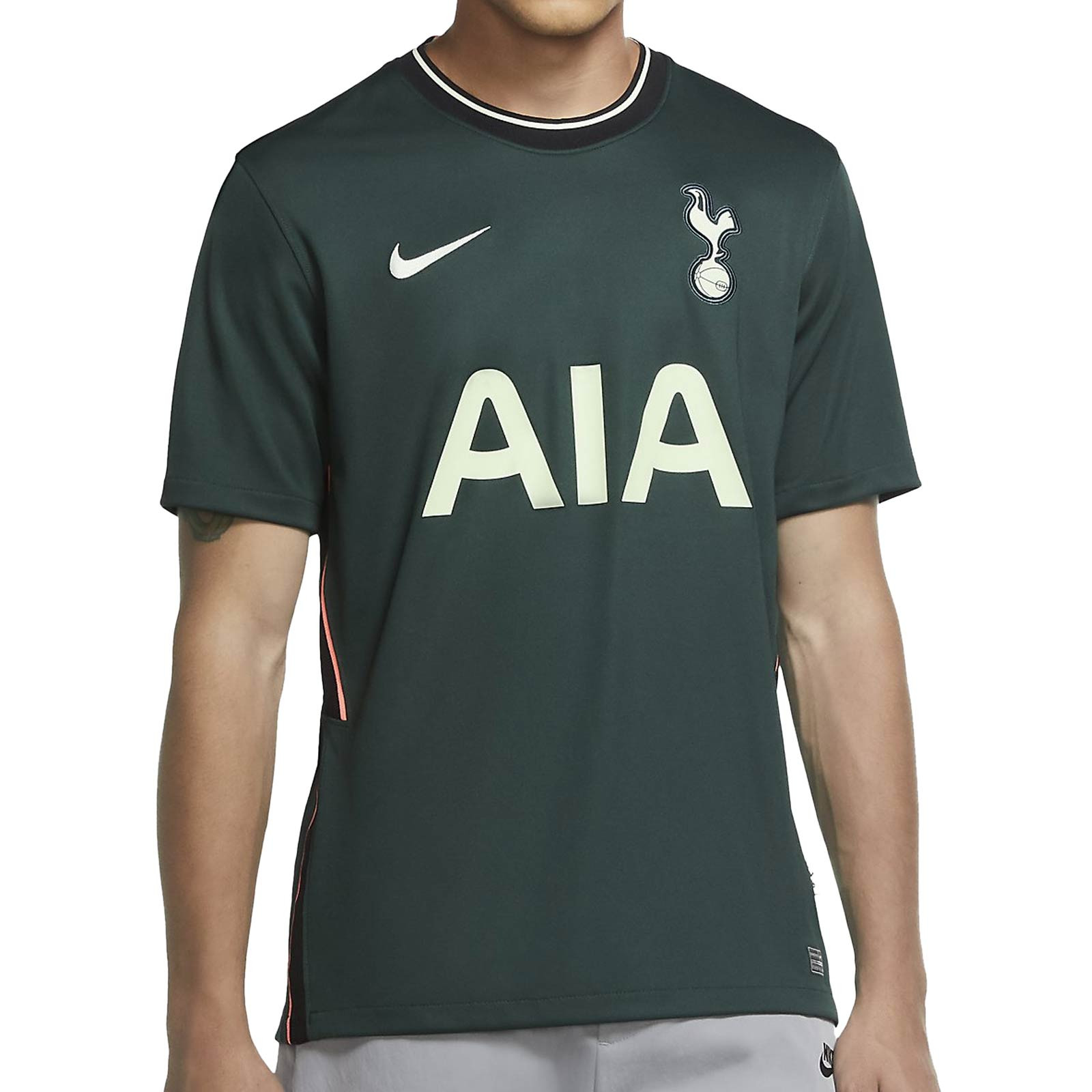 cómo enfocar Rebobinar  Camiseta Nike 2a Tottenham 2020 2021 Stadium | futbolmania