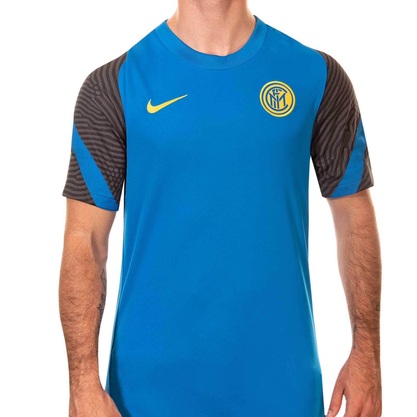 Exactamente Asombrosamente Búsqueda  Camiseta Nike Inter entreno 2020 2021 Strike | futbolmania