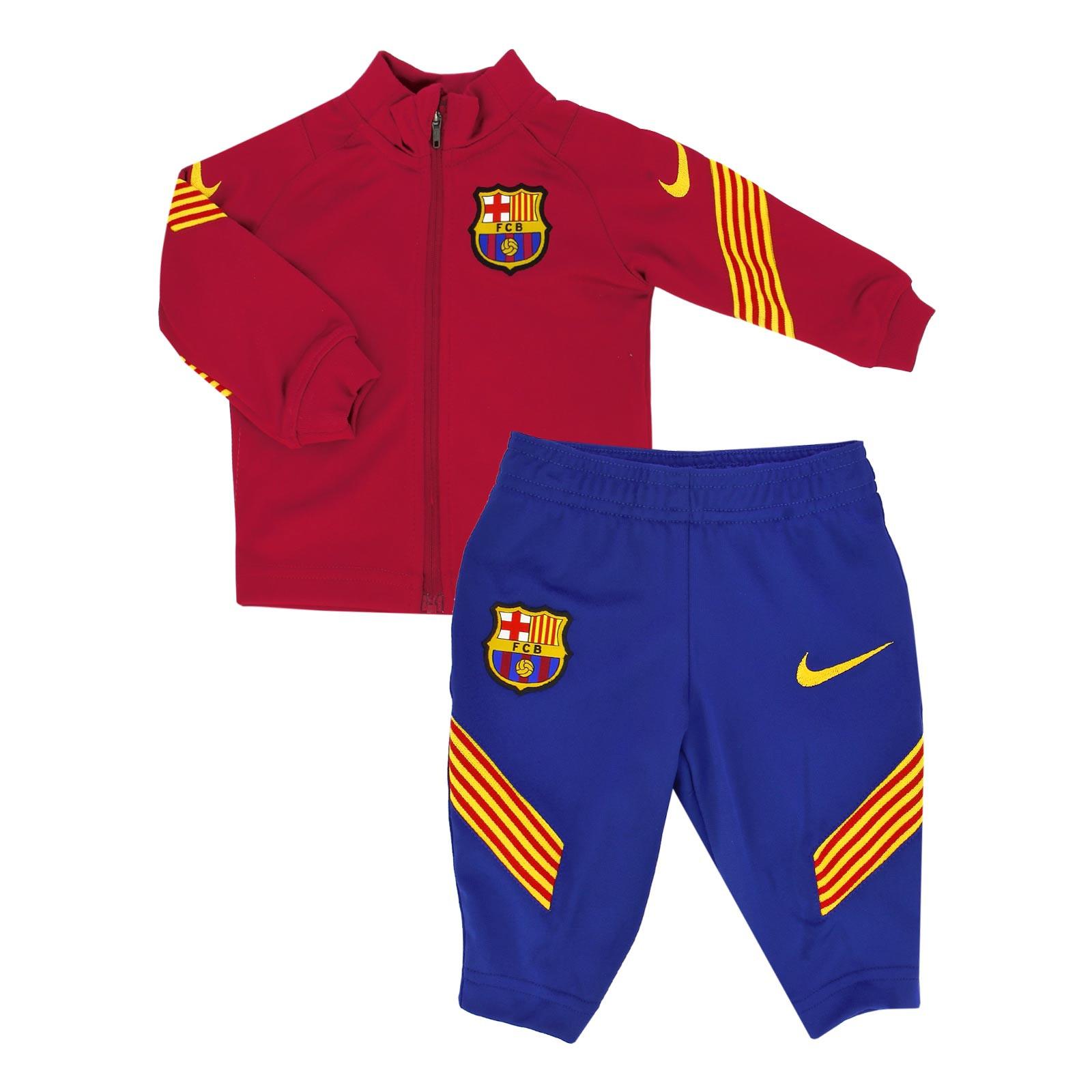 Decir a un lado Auto Picotear  Chándal Nike Barcelona bebé Strike 2021 | futbolmaniaKids