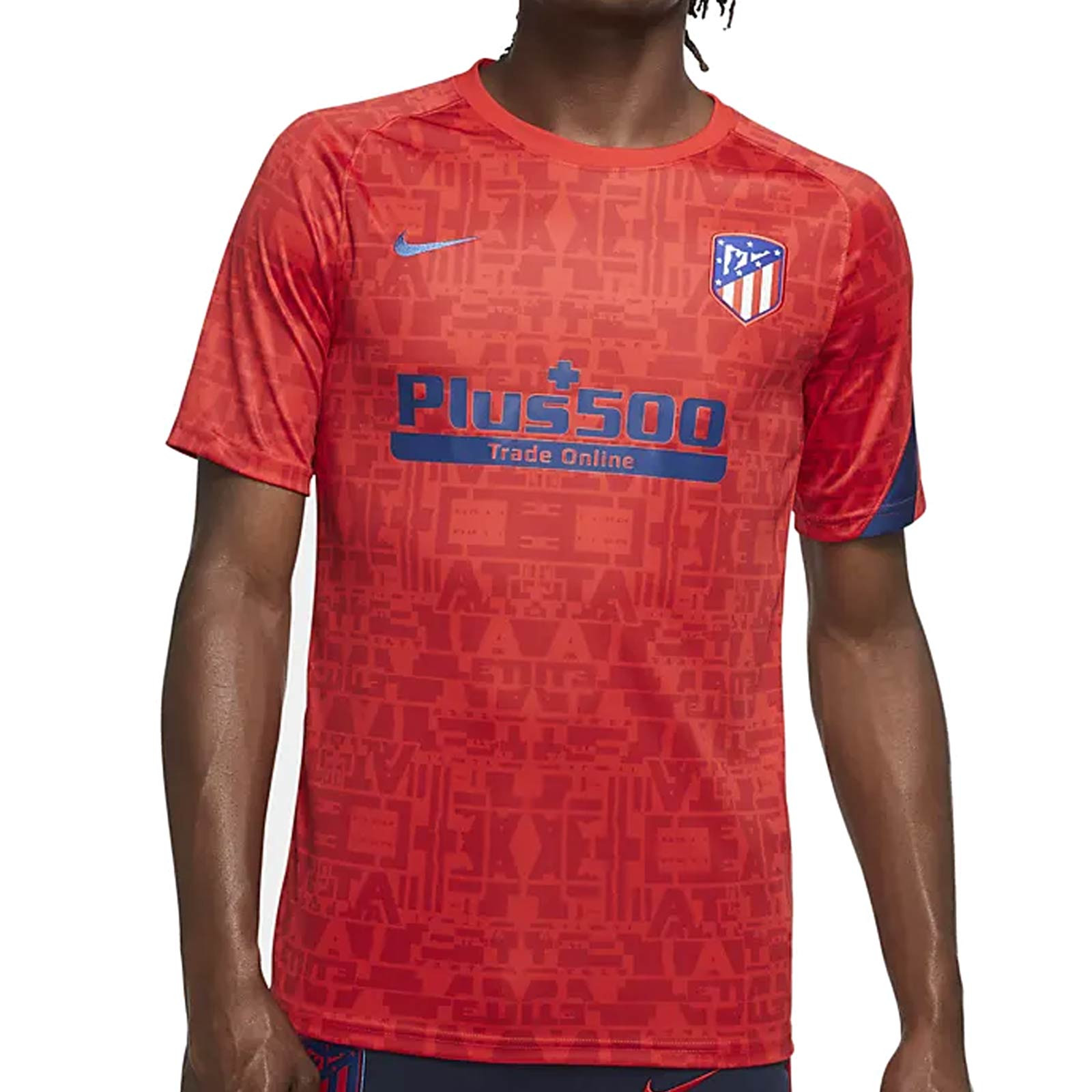 Camiseta Nike Atlético Pre Match 2020 2021 Futbolmania