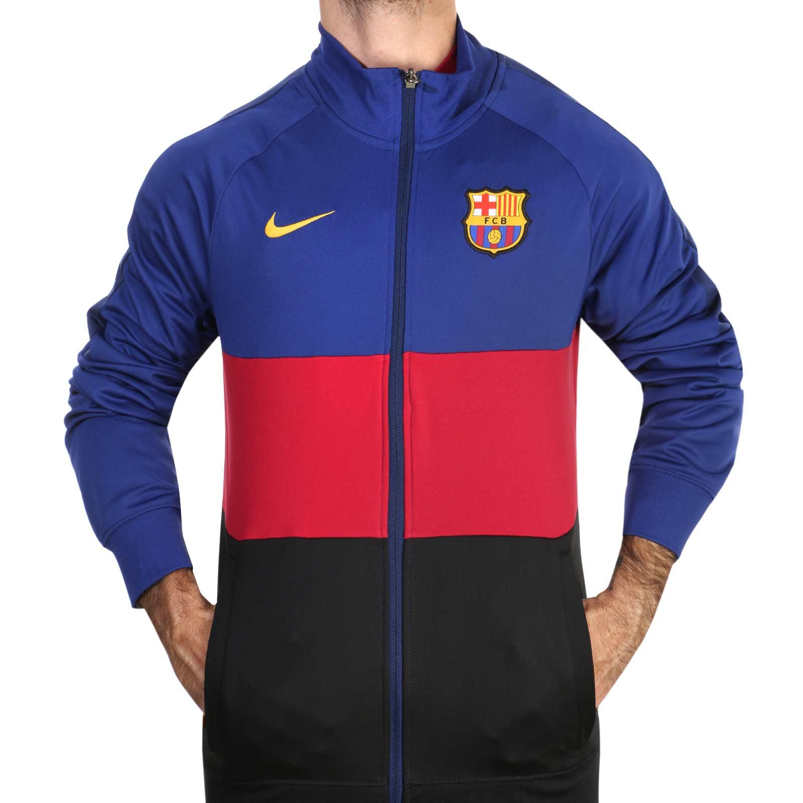Química en cualquier sitio Selección conjunta  Chaqueta Nike Barcelona I96 himno 2020 2021 | futbolmania
