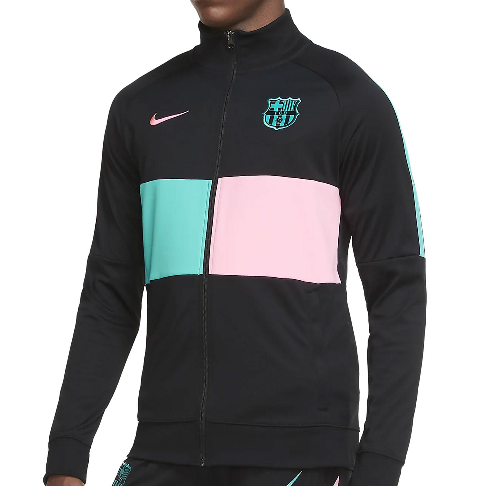 Sensible Me sorprendió El extraño  Chaqueta Nike Barcelona himno UCL I96 2020 2021   futbolmania