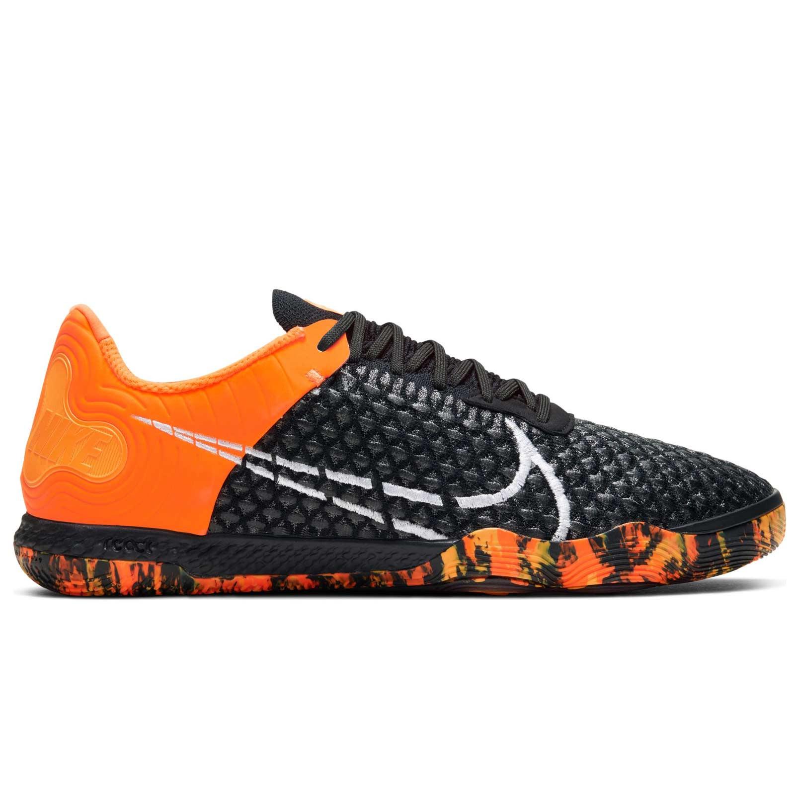 regla confiar Objeción  Zapatillas futsal Nike React Gato negras | futbolmania
