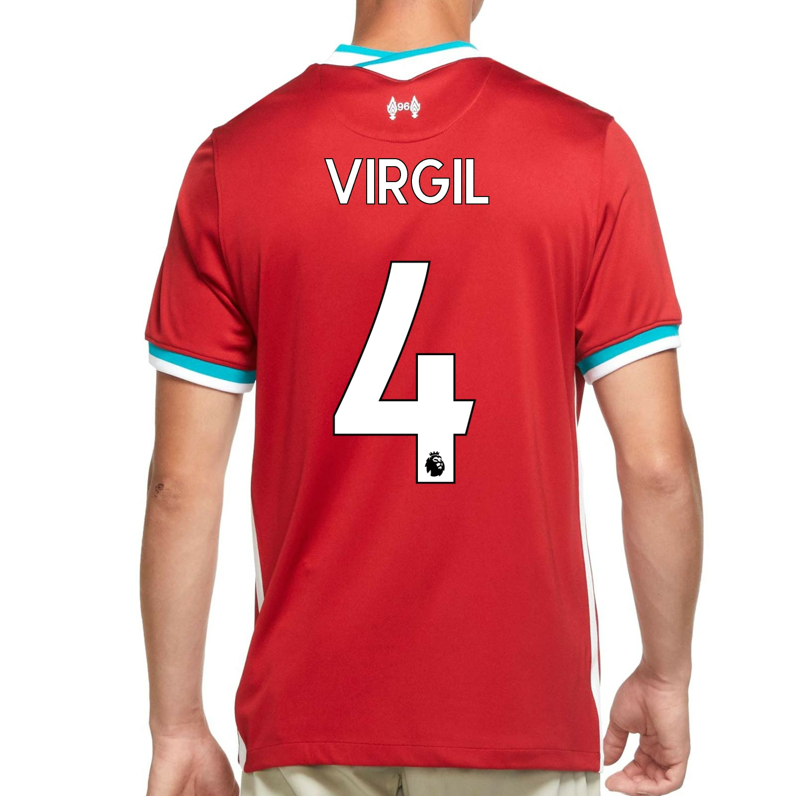 Camiseta Nike Virgil Liverpool 2020 2021 Stadium