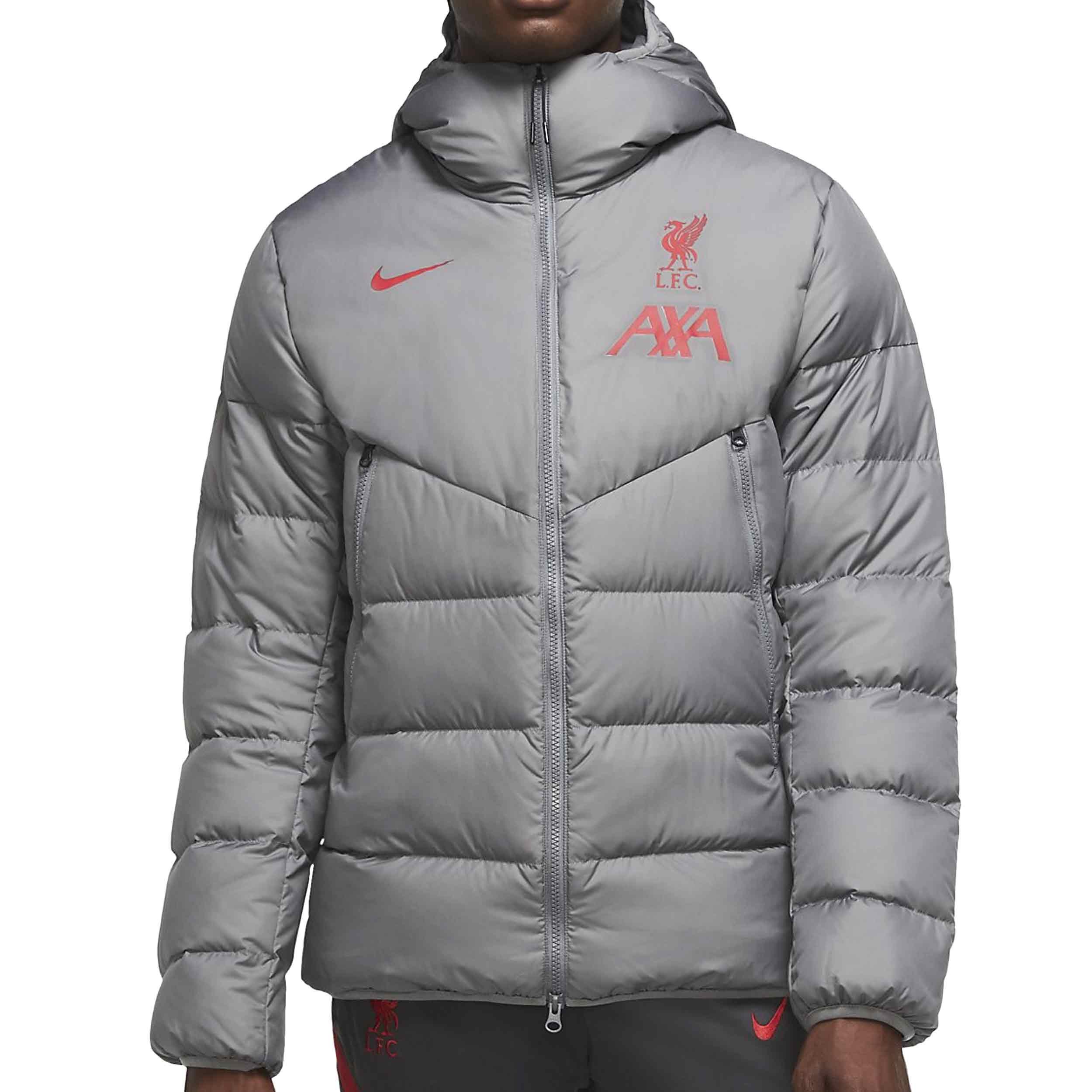 anillo abuela pistola  Chaqueta Nike Liverpool Strike gris | futbolmania