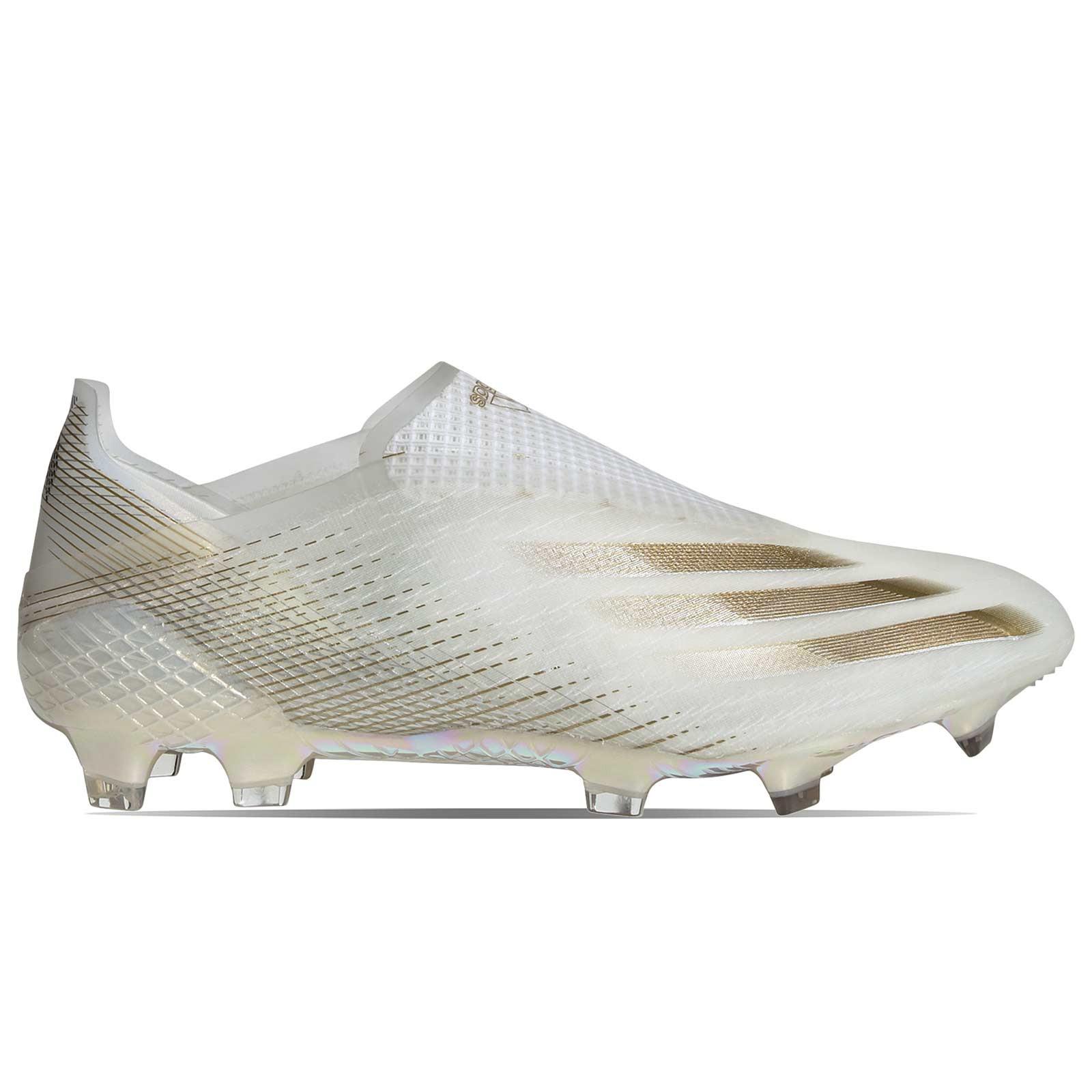 Novia Precaución Efectivamente  Botas adidas X GHOSTED+ FG blanco | futbolmania