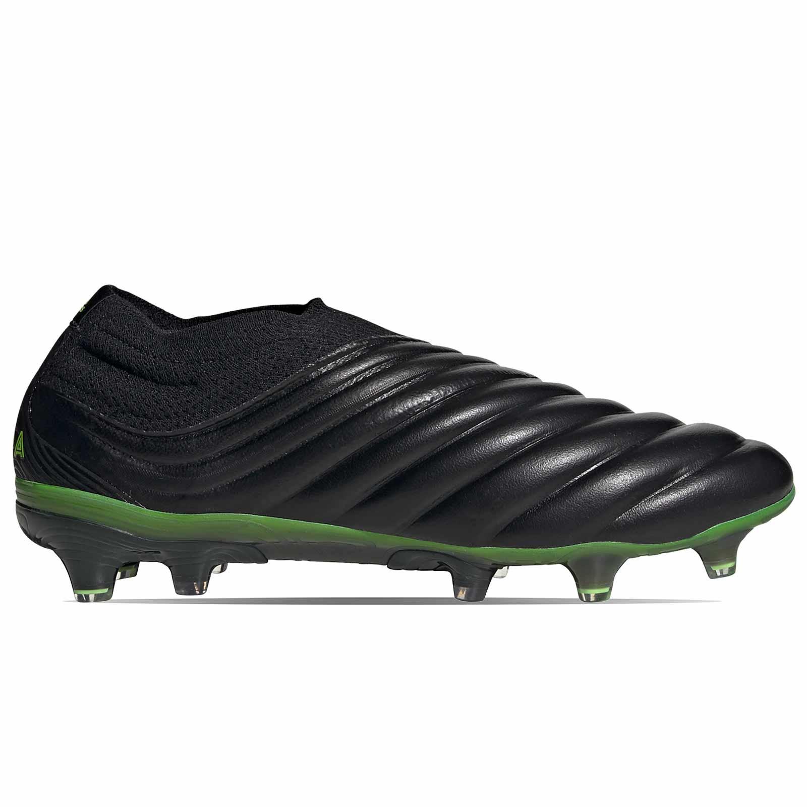 abdomen altura Degenerar  adidas Copa 20+ FG negras y verdes | futbolmania
