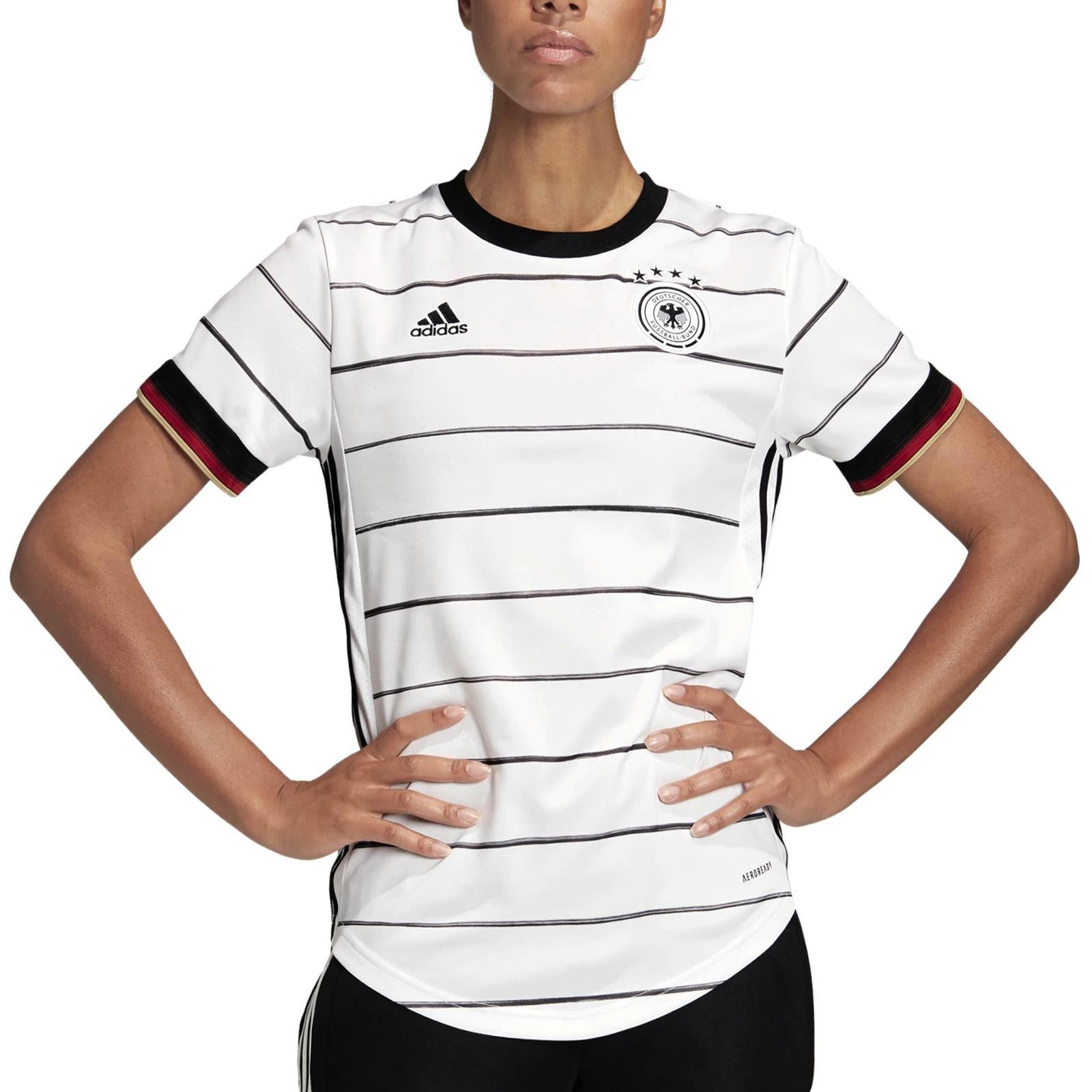 Alcanzar par agradable  Camiseta mujer adidas Alemania 2020 2021 blanca | futbolmania