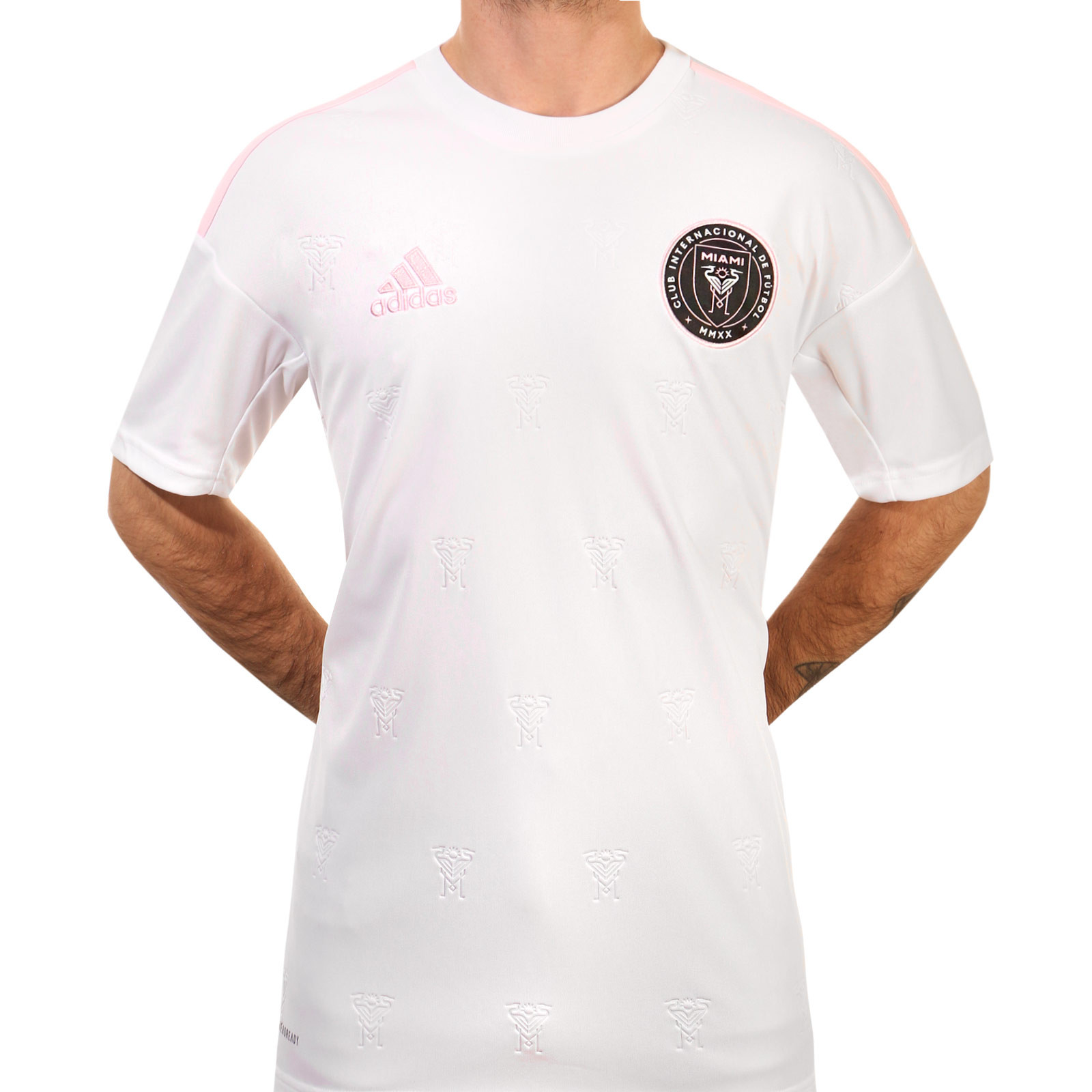 Camiseta Adidas Inter Miami Cf 2020 Blanca Futbolmania