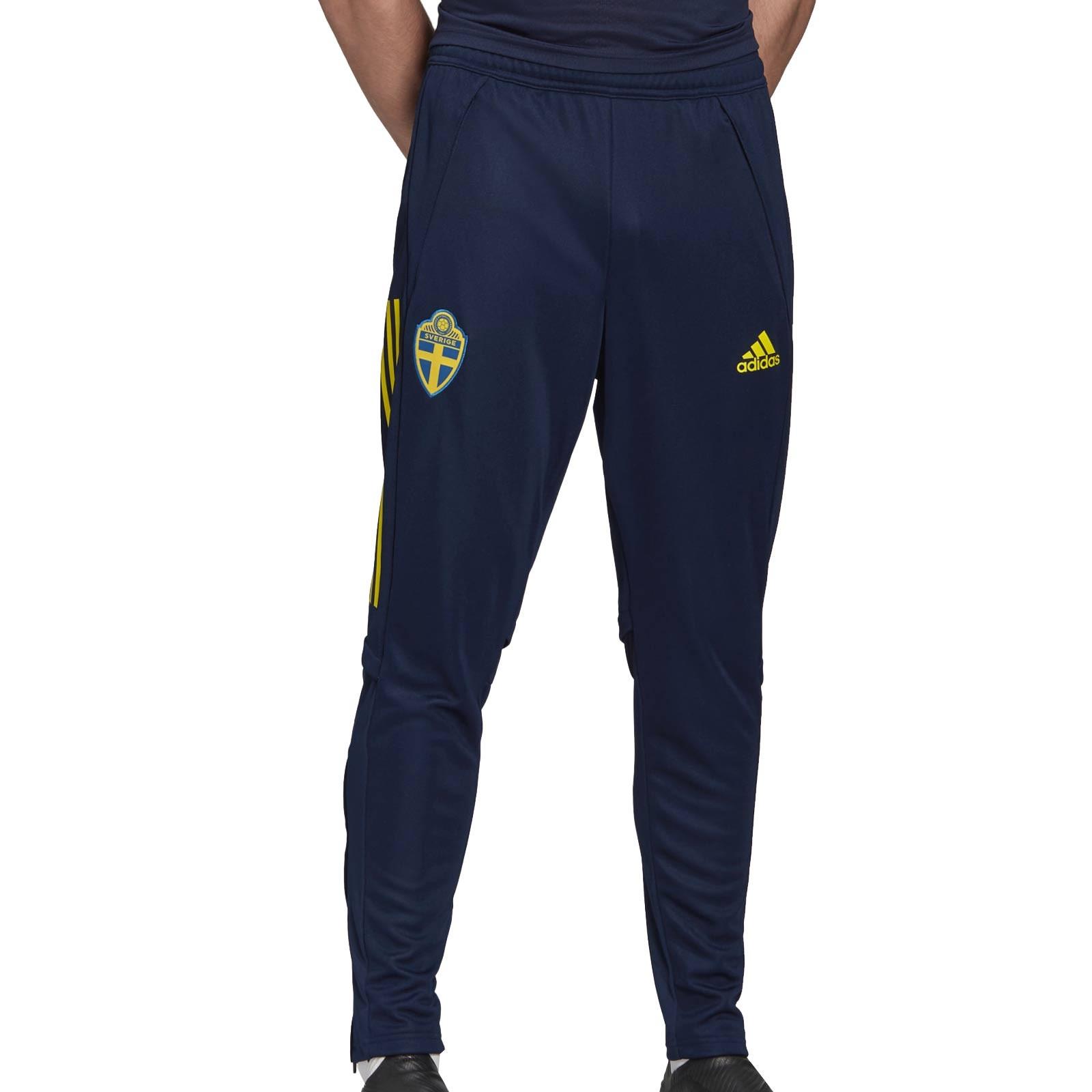 Camiseta entreno adidas Suecia 19 20 marino | futbolmania