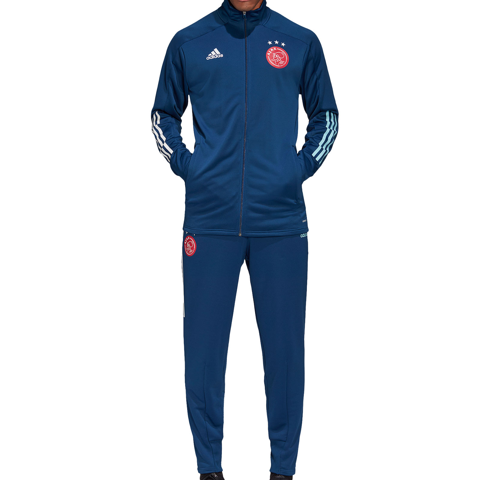 Relativo pierna Feudo  Chándal adidas Ajax 2020 2021 azul marino | futbolmania