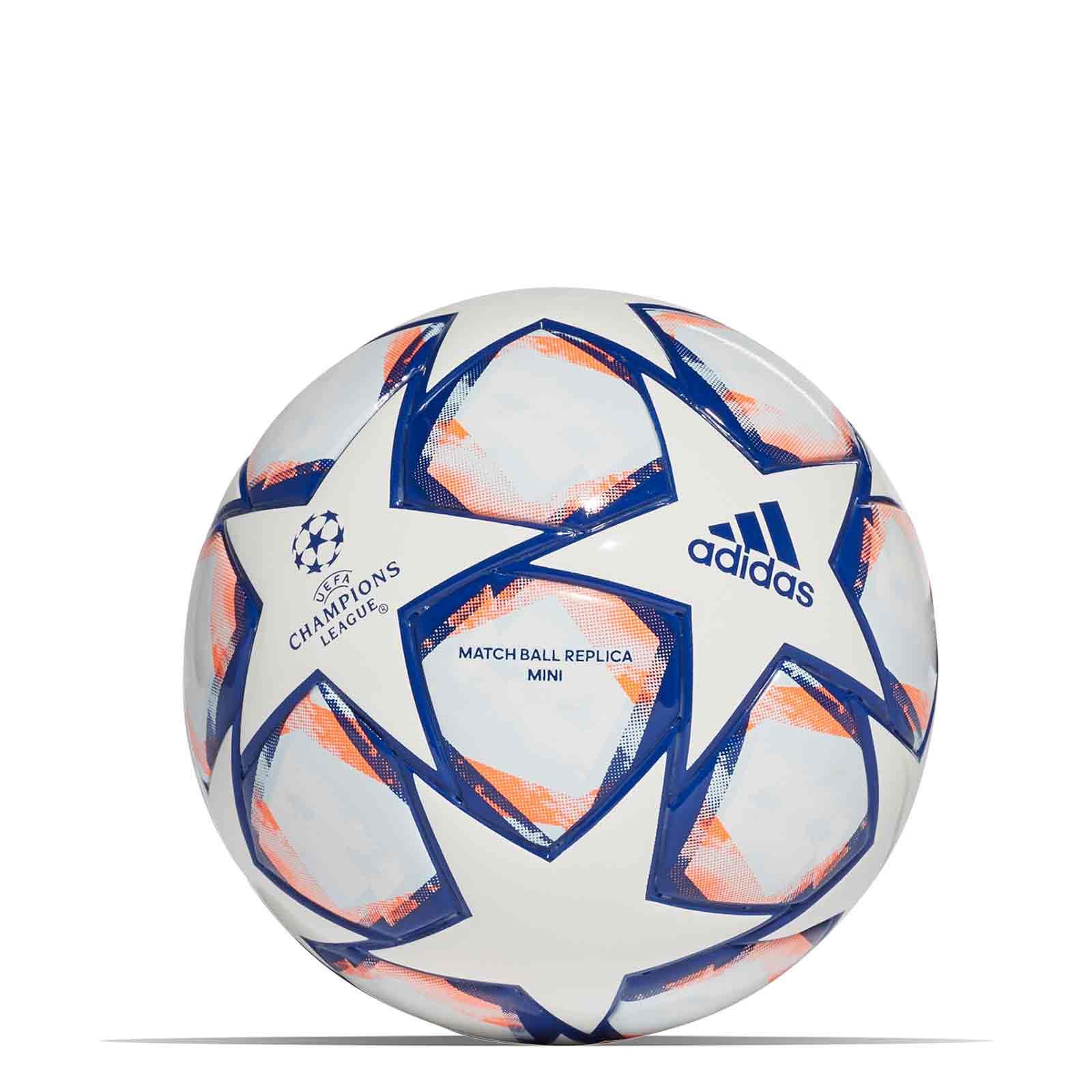 agudo Condicional farmacia  Balón adidas Finale 20 talla mini blanco azul | futtbolmania