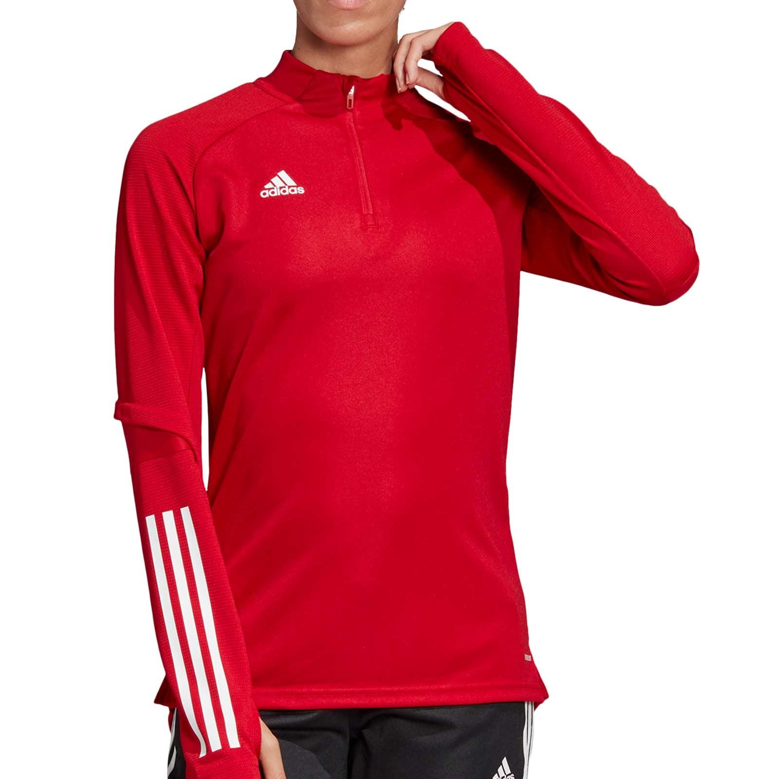 Legítimo gene entrevista  Sudadera adidas Condivo 20 mujer roja | futbolmania