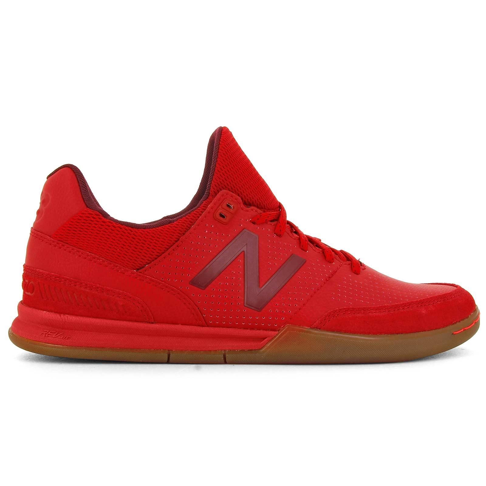 new balance blancas y rojas