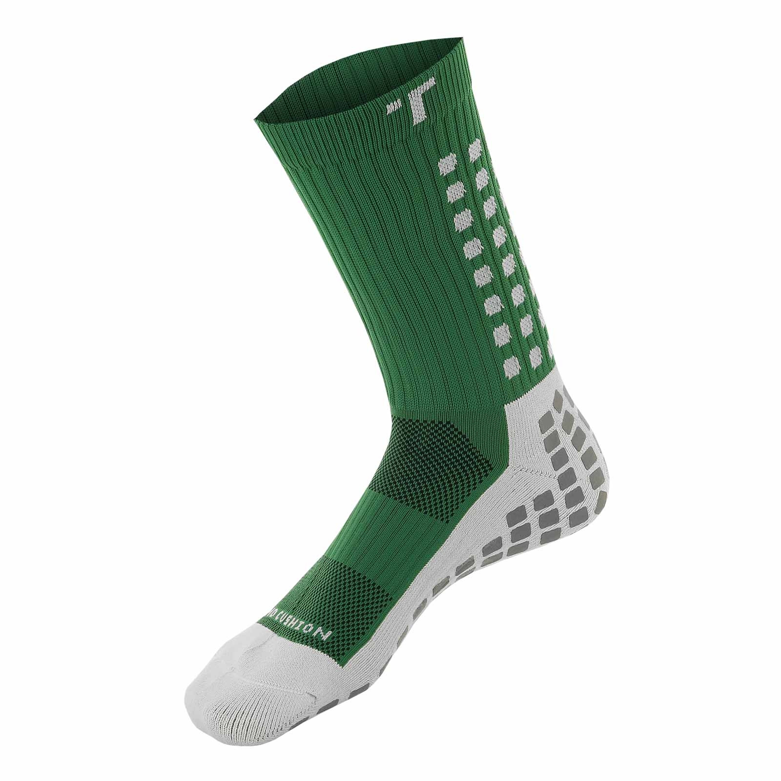 Calcetines antideslizantes Trusox verde | futbolmania