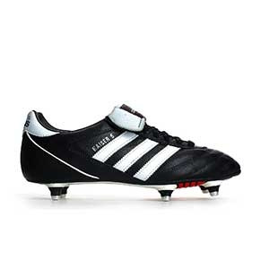 adidas Kaiser 5 Cup - Botas de fútbol de piel adidas para césped natural húmedo - Negro - derecho