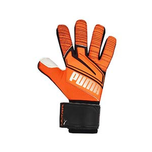 Puma Ultra Grip 1 RC - Guantes de portero Puma corte Regular Cut - naranjas - frontal
