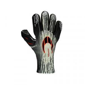 HO Soccer Phenomenon Magnetic 2 - Guantes de portero profesionales HO Soccer corte Negative - blancos, negros