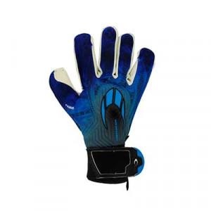 HO Soccer Phenomenon Pro 2 - Guantes de portero profesionales HO Soccer corte Roll/Negative - azules